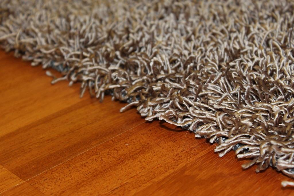 Tapis shaggy - Fancy (marron/beige) - Tapis Shaggy - Trendcarpet.fr