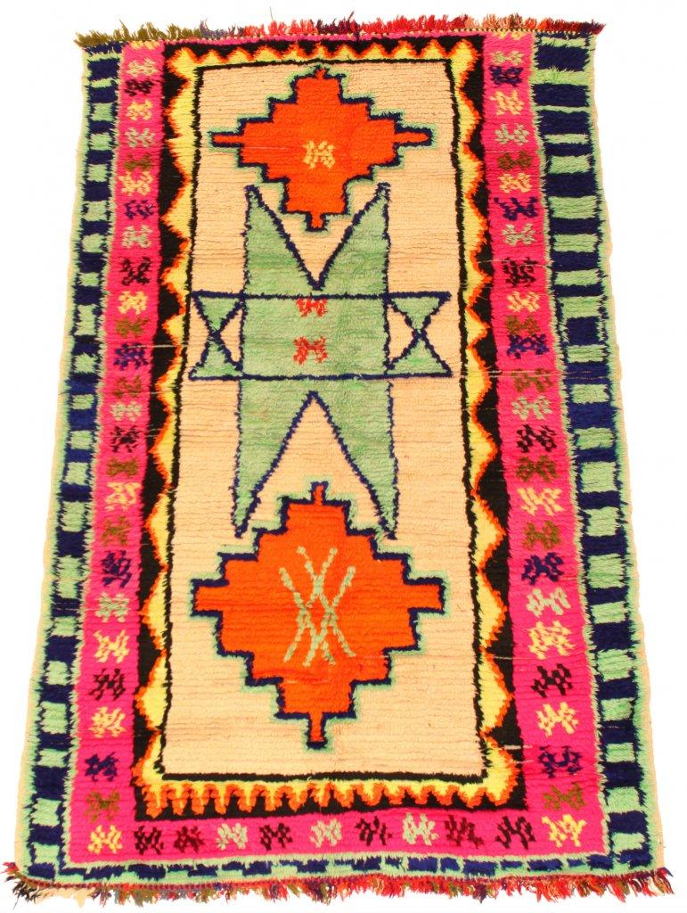 Kelim Marokkanische Berber Teppich Azilal 195 x 120 cm