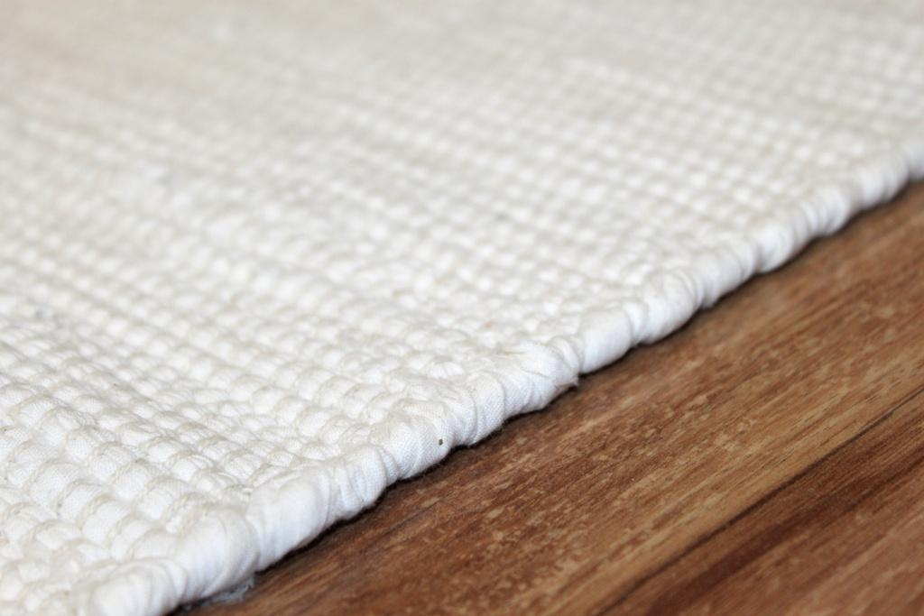 Flickenteppich Cotton Wei 223 Trendcarpet De